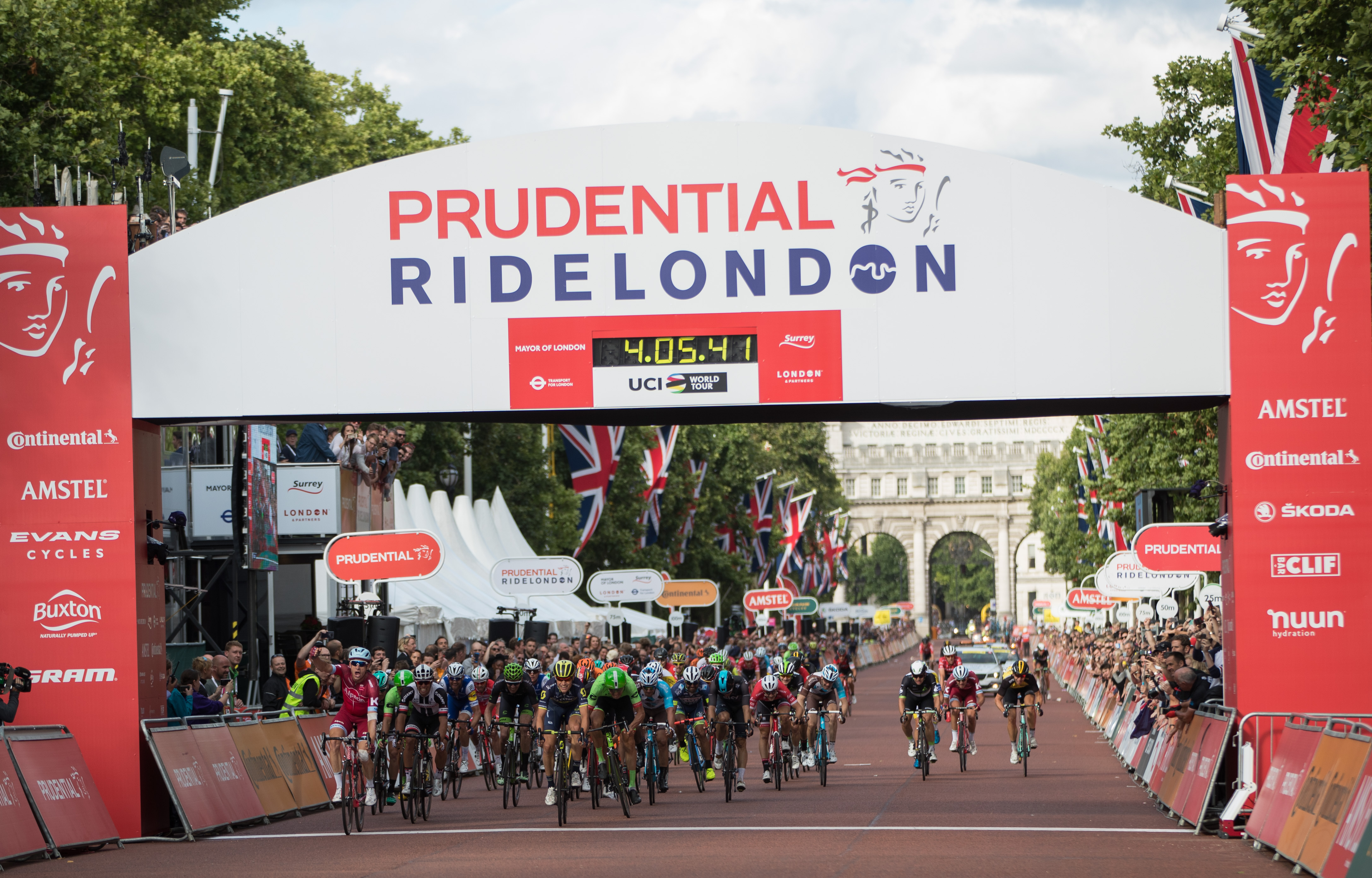 Credit Prudential RideLondon when using this photo