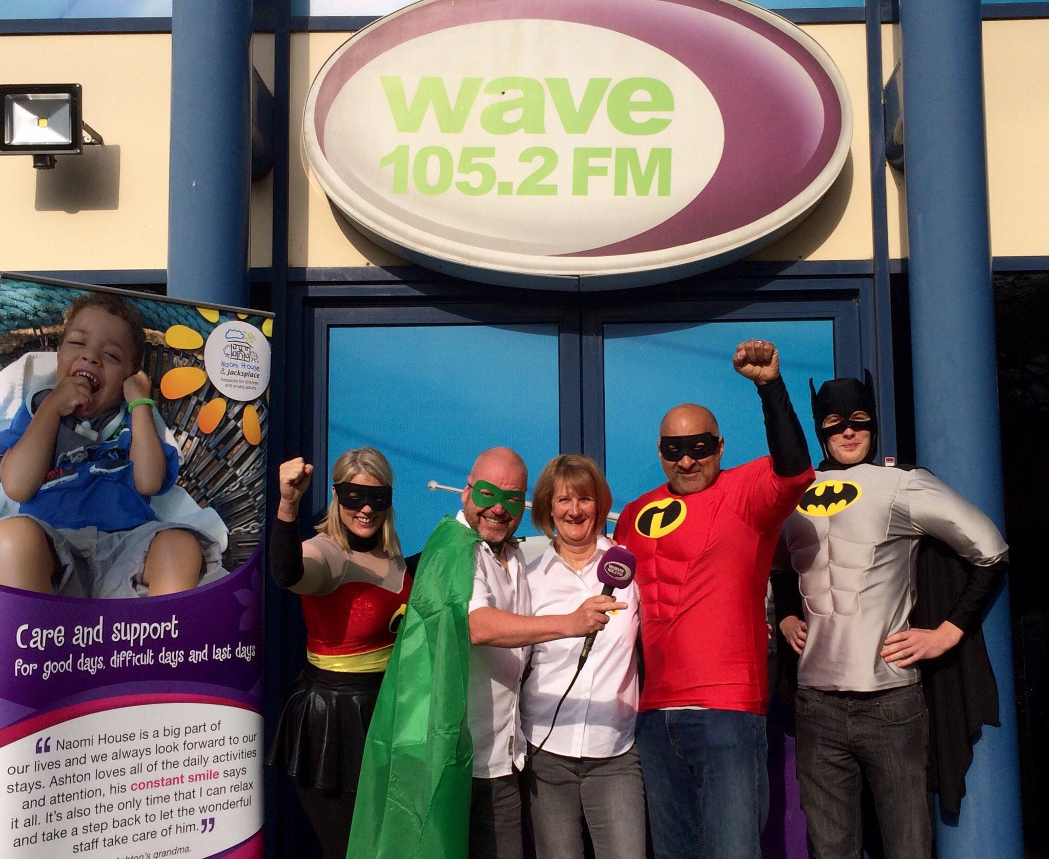 Wave 105 Superhero Day 2017