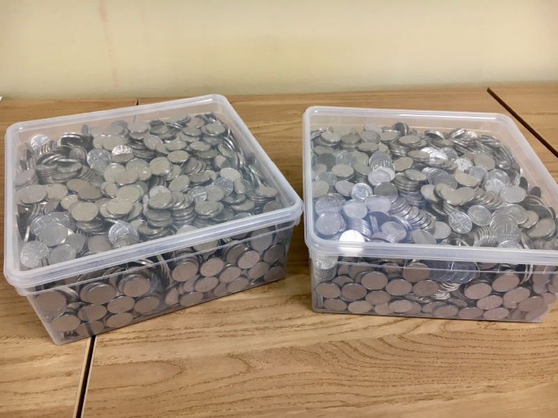 Paul Punter's £300 - Coins.JPG
