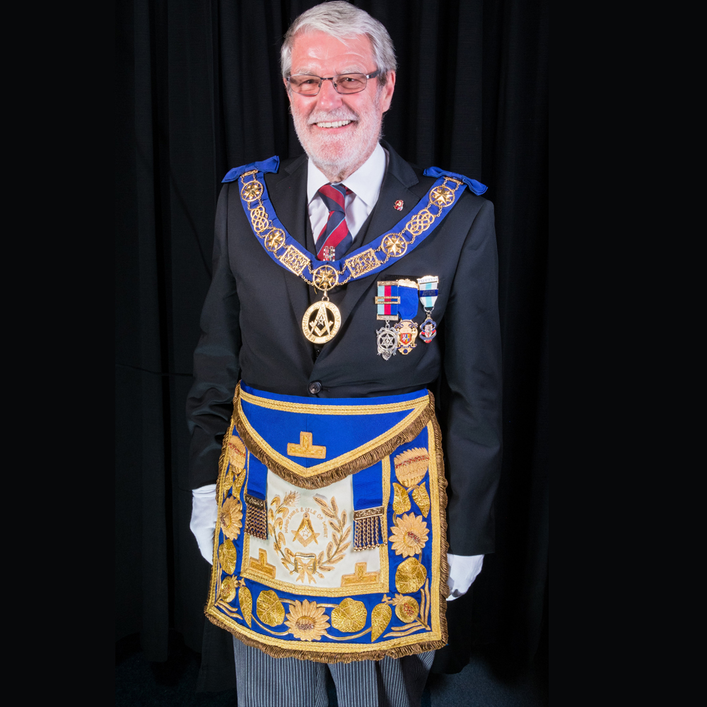 Mike Wilks, Hampshire and IOW Freemasons