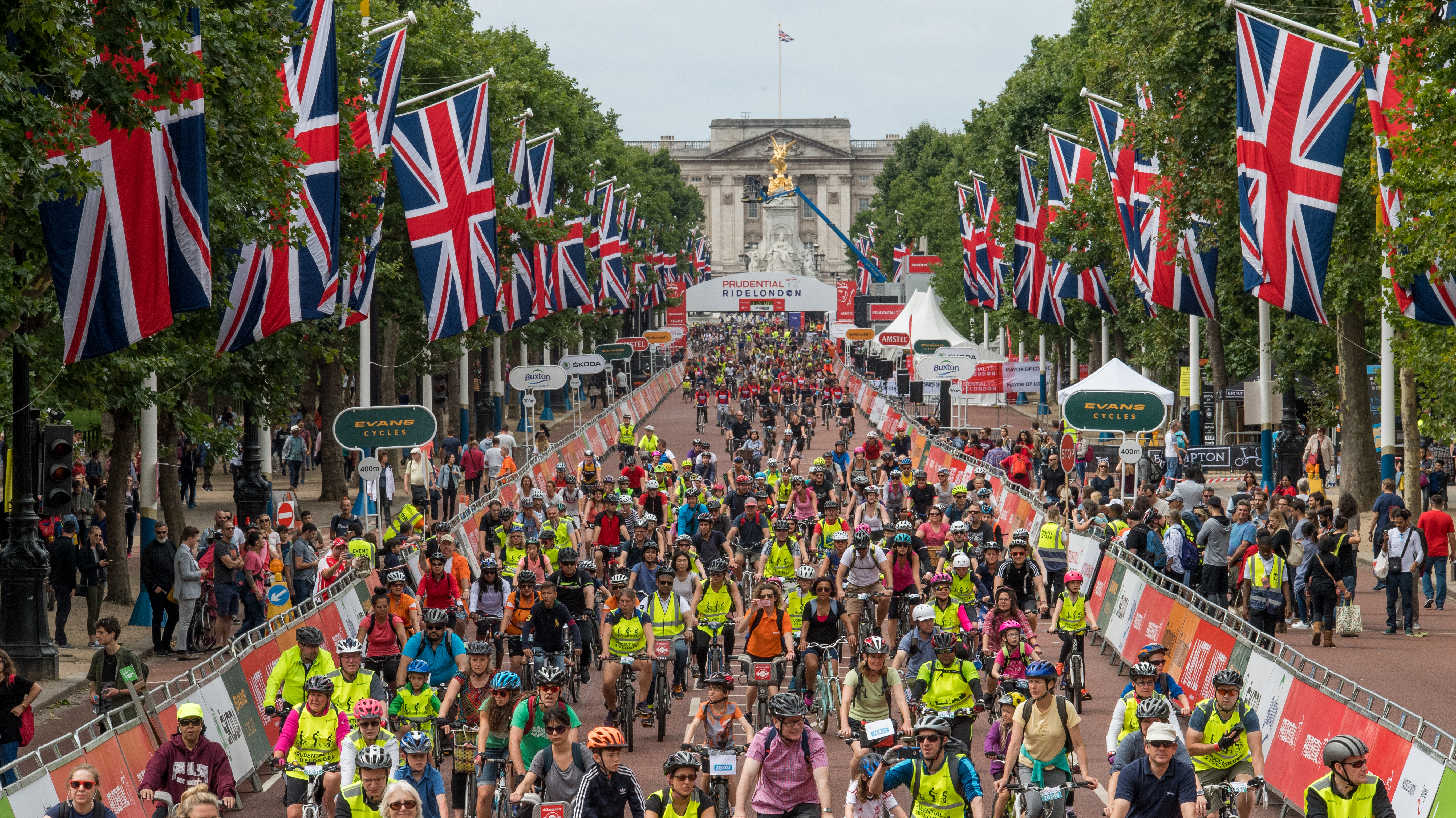 Credit: Prudential RideLondon