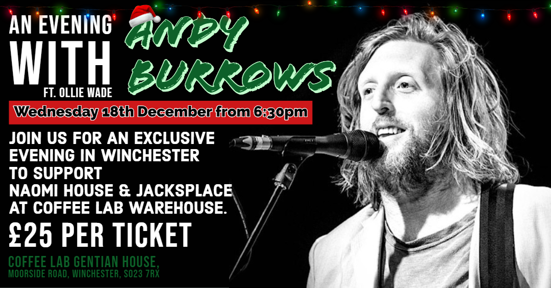 An Evening With Andy Burrows
